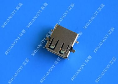 2.0 Female USB Type A Connector 4 Pin DIP 90 Degree Jack Socket For Server